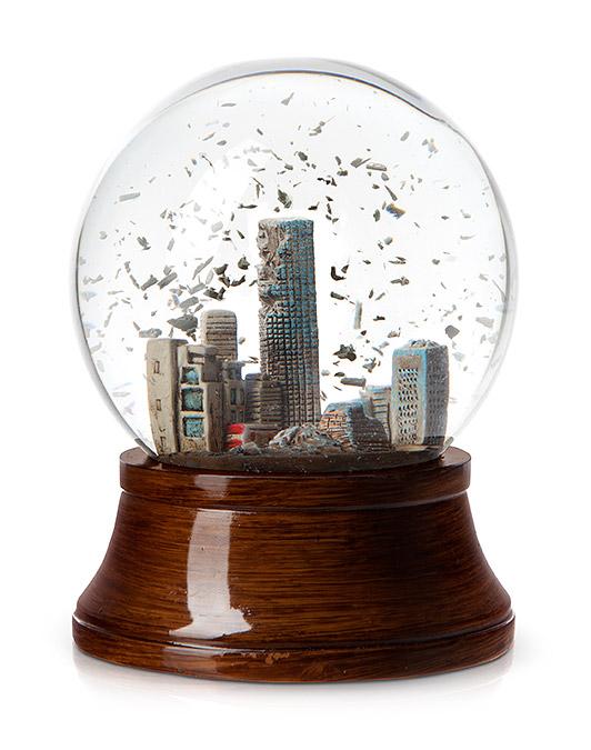 Apocalypse Snow Globe