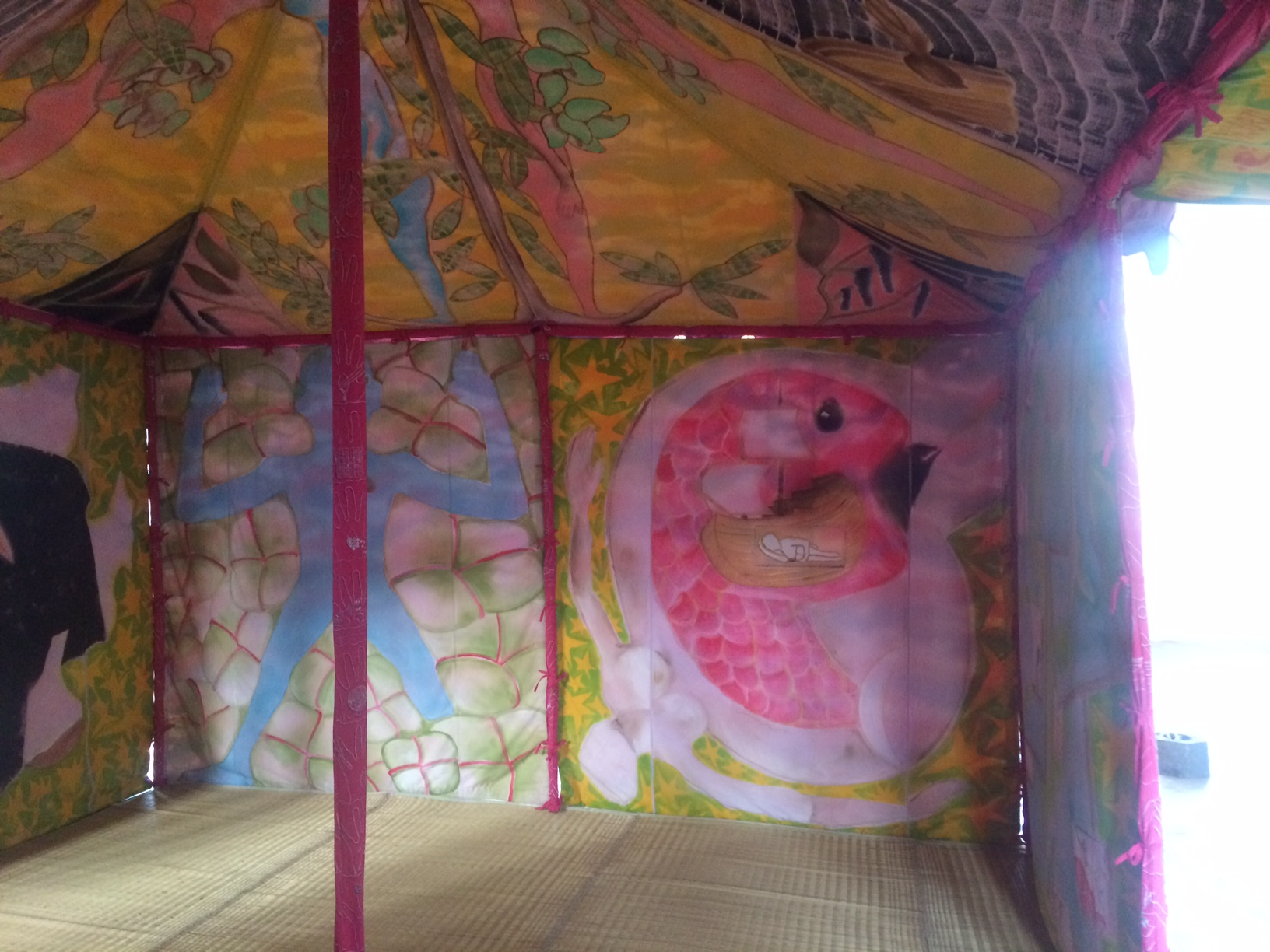 "Francesco Clemente ""Encampment"""